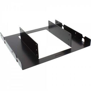 """InLine HDD Einbaurahmen, 3x 6,35cm (2,5"""") zu 13,34cm (5,25""""), nur Rahmen und Schrauben, schwarz"""