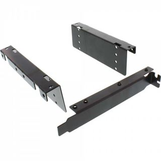 """InLine HDD Slotblech, 4x 6,35cm (2,5"""") HDD zu PCI-Slot, mit"""