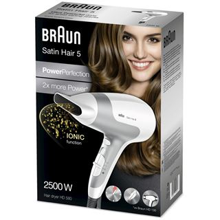 Braun SatinHair5 HD 580 ws