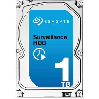 "1000GB Seagate Surveillance HDD +Rescue ST1000VX003 64MB 3.5"" (8.9cm) SATA 6Gb/s"