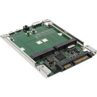 InLine Adapter für 2x mSATA auf SATA/USB 3.0 (76620A)