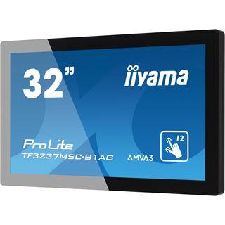 "31,5"" (80,01cm) iiyama ProLite TF3237MSC-B1AG Touch schwarz 1920x1080 1xDVI/1xHDMI 1.3/1xVGA"