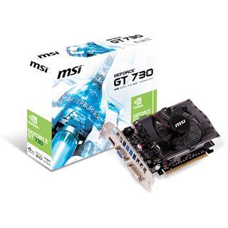 4GB MSI GeForce GT 730 V1 Aktiv PCIe 3.0 x16 (Retail)
