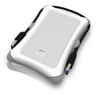 "1000GB Silicon Power Armor A30 SP010TBPHDA30S3W 2.5"" (6.4cm) USB 3.0 weiss"