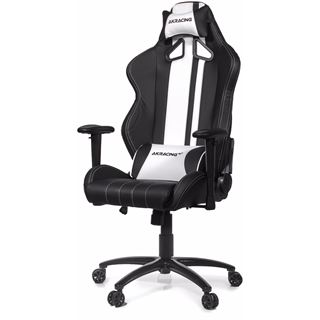AKRacing Rush Gaming Chair schwarz/weiß