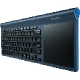 Logitech TK820 Wireless All-in-One Keyboard USB Deutsch schwarz