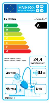 Electrolux EUS8ALRGY Beutel A EUS8ALRGY