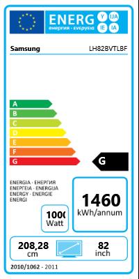 "82"" (208,28cm) Samsung 820DXn schwarz 1920x1080 BNC/1xHDMI"