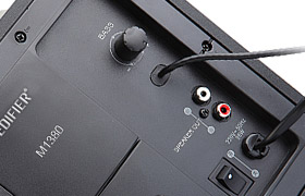 EDIFIER M1380 Anschlüsse