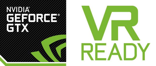 Nvidia VR Ready logo