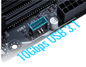 10Gbps, USB 3.1 Front-Panel-Anschluss