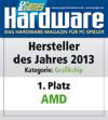 AMD - 1. Platz Grafikchip des Jahres