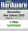 Sapphire - 1. Platz Grafikkarte des Jahres