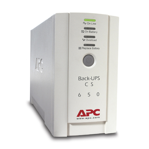 APC Back-UPS CS 650 650 VA / 400 Watt Tower (BK650EI)