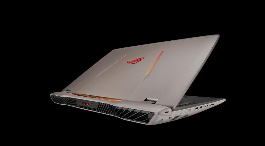 "Notebook 15.6"" (39,62cm) Asus ROG GL553VD-FY010T i77700HQ/8GB/128GB+1TB/W10"