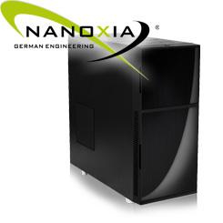Nanoxia Deep Silence 1 Dark Black - Klassisches Design made in Germany