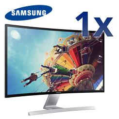 Samsung Monitor S27D590C - Ein curved Bildschirm