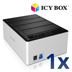 ICY BOX IB-141CL-U3 - 4fach Docking- und Klonstation für 2,5