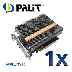 Palit GeForce GTX750 KalmX - Die geräuschlose Grafiklösung für Ihren PC.
