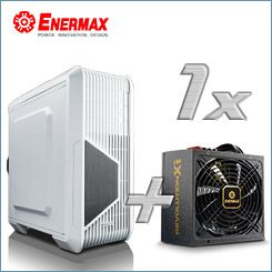 "Enermax ""Head of the Game""-Bundle - Revolution X't 530W Netzteil + iVektor Gehäuse"