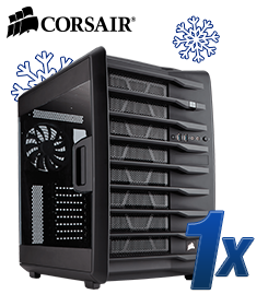 CORSAIR Carbide Series Air 740 schwarz mit Sichtfenster