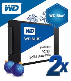 500GB WD Blue 2,5""