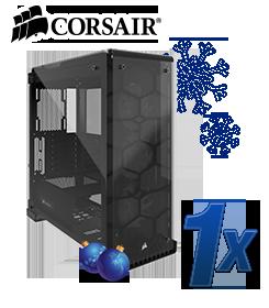 CORSAIR Crystal Series 570X RGB schwarz mit Sichtfenster