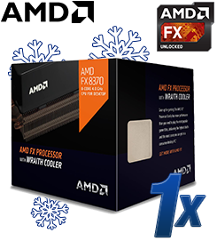 AMD FX Series FX-8370 Wraith 8x 4.00GHz So.AM3+ BOX