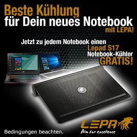 GRATIS Notebook-Kühler