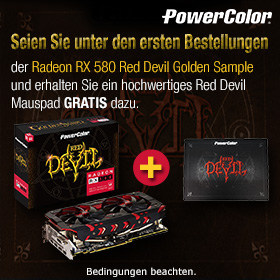 Red Devil Mauspad GRATIS