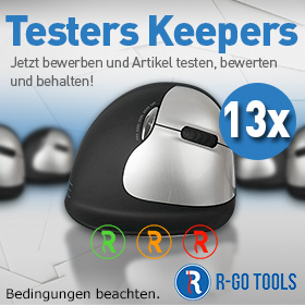 Testers Keepers mit R-GO Tools