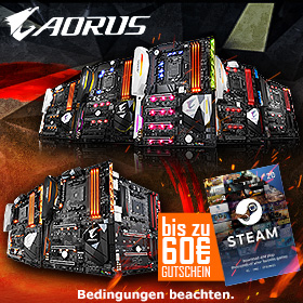 GIGABYTE Steam-Promo