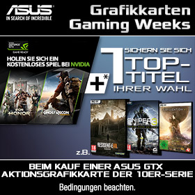 Grafikkarten Gaming Weeks