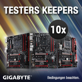 GIGABYTE Testers Keepers