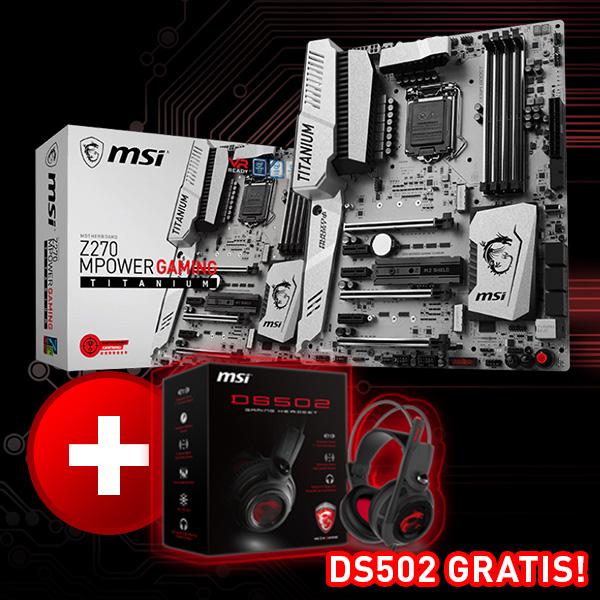 MSI Z270 Mpower Gaming Titanium Intel Z270 So.1151 Dual Channel DDR4 ATX Retail