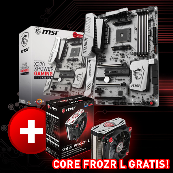 MSI X370 XPOWER GAMING TITANIUM AMD X370 So.AM4 Dual Channel DDR4 ATX Retail