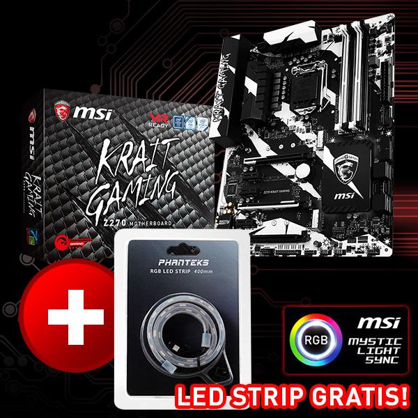 MSI Z270 Krait Gaming Intel Z270 So.1151 Dual Channel DDR4 ATX Retail