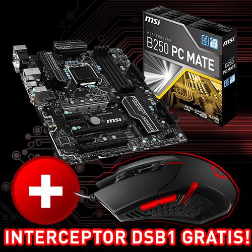MSI B250 PC MATE Intel B250 So.1151 Dual Channel DDR ATX Retail