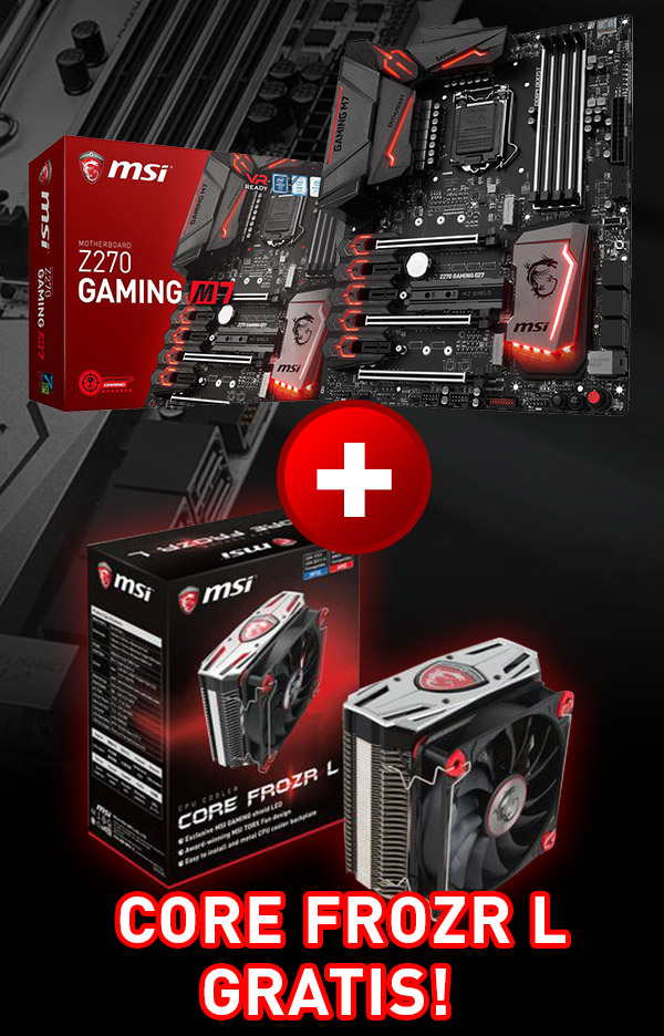MSI Z270 Gaming M7 Intel Z270 So.1151 Dual Channel DDR ATX Retail