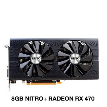 8GB Sapphire Radeon RX 470 Nitro+ Aktiv PCIe 3.0 x16 (Retail)