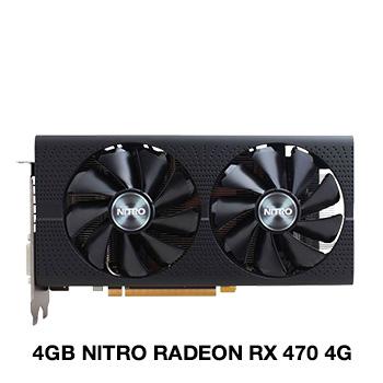4GB Sapphire Radeon RX 470 NITRO Aktiv PCIe 3.0 x16 (Retail)