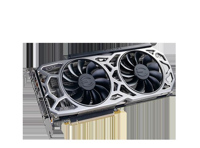 11GB EVGA GeForce GTX 1080 Ti SC2 Gaming Aktiv PCIe 3.0 x16 (Retail)