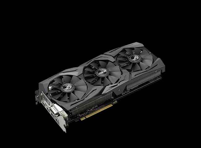 8GB Asus GeForce GTX 1070 Strix OC Aktiv PCIe 3.0 x16 (Retail)