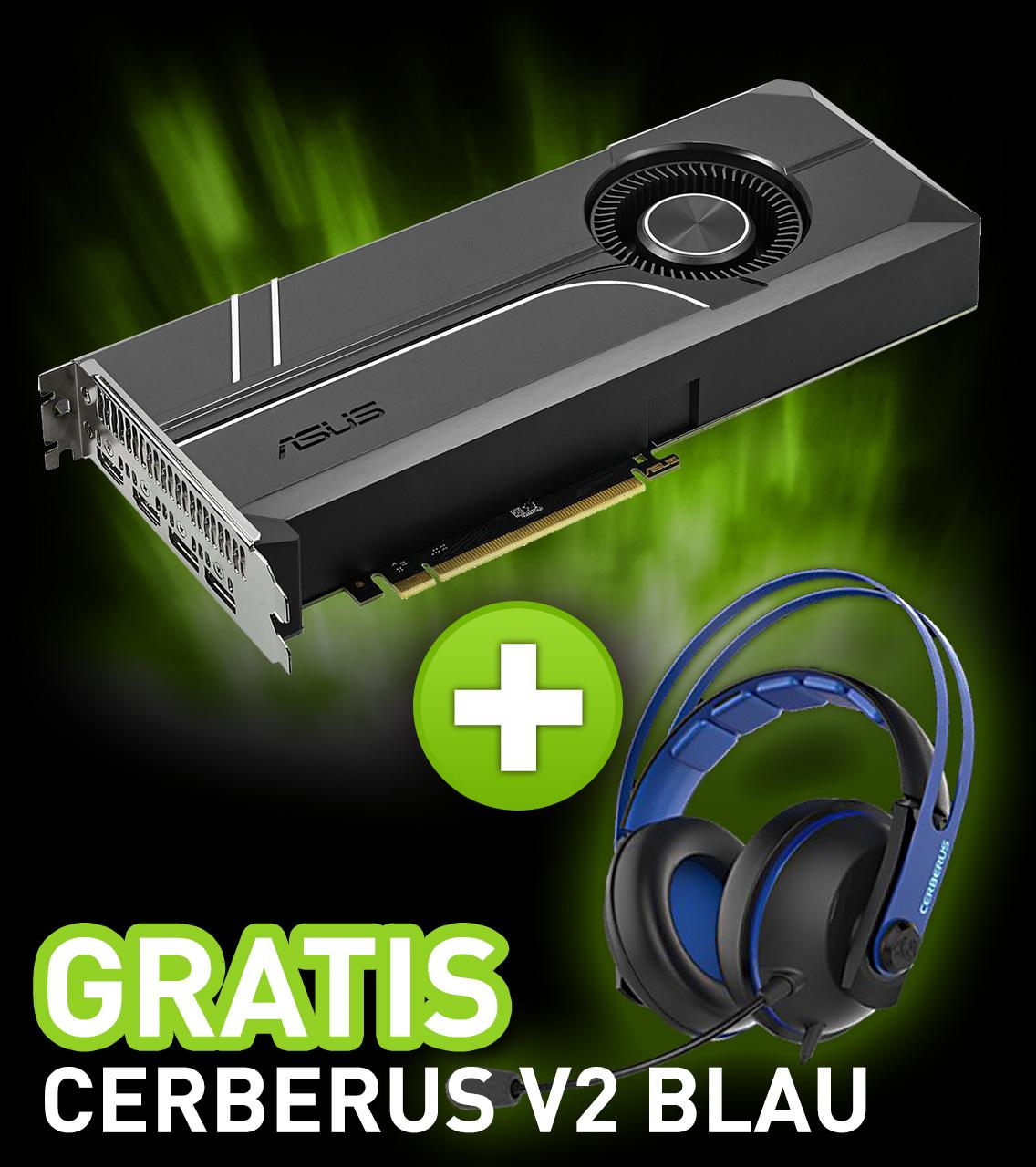 8GB Asus GeForce GTX 1080 Turbo Aktiv PCIe 3.0 x16 (Retail)
