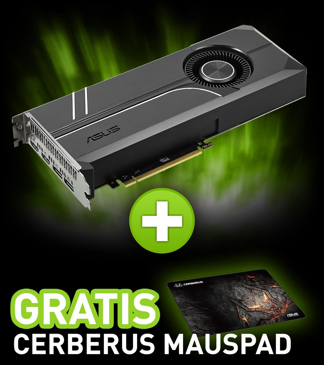 6GB Asus GeForce GTX 1060 Turbo Aktiv PCIe 3.0 x16 (Retail)