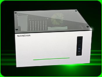 Nanoxia Project S mit Sichtfenster Midi Tower ohne Netzteil silber