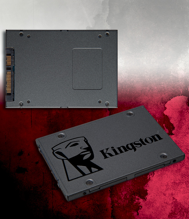 "480GB Kingston A400 2.5"" (6.4cm) SATA 6Gb/s TLC NAND (SA400S37/480G)"