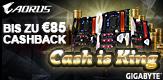 BIS ZU 85 € Cashback – mit GIGABYTE