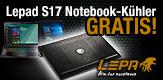 GRATIS Notebooklüfter von LEPA