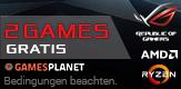 UPGRADEN SIE AUF AUSGEWÄHLTE ASUS X370 ODER B350 MAINBOARDS + AMD RYZEN CPU, UND SICHERN SIE SICH 2 GRATIS GAMES